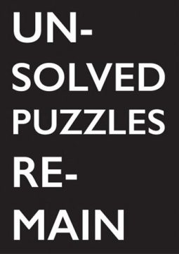 harvey_benge_unsolved_puzzles_remain_cover