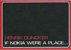 Henrik Duncker, If Nokia Were a Place